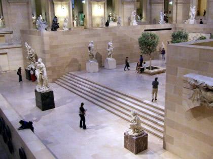Salão de esculturas