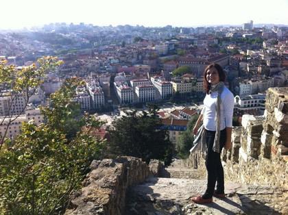 Vista do centro histórico de Lisboa