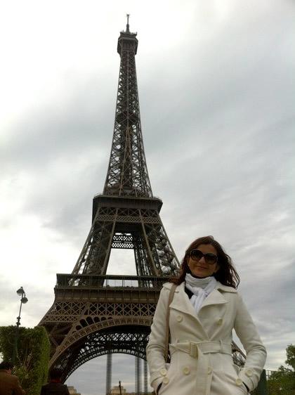 Em Paris, em 2012
