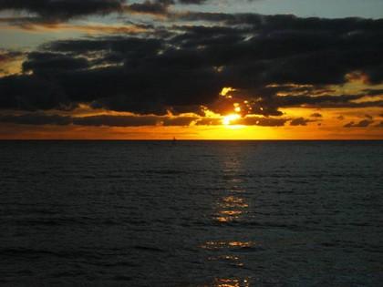 Por do sol em Glenelg, Adelaide