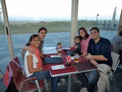 Jantar em Castelldefels
