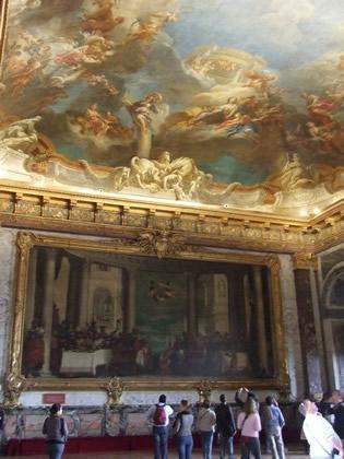 Sala de obras de artes do Palácio