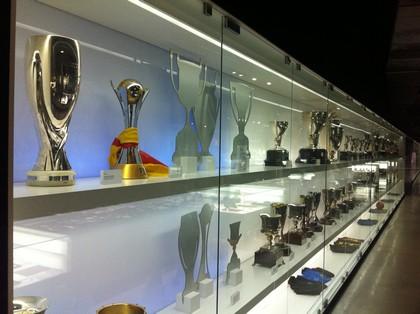 Troféus, muitos trófeus do Barça
