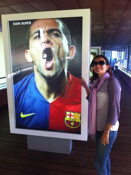 Com Dani Alves