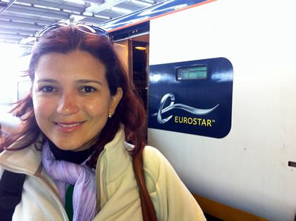 Embarque em Londres