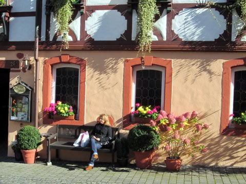 Bernkastel é o lugar ideal para relaxar