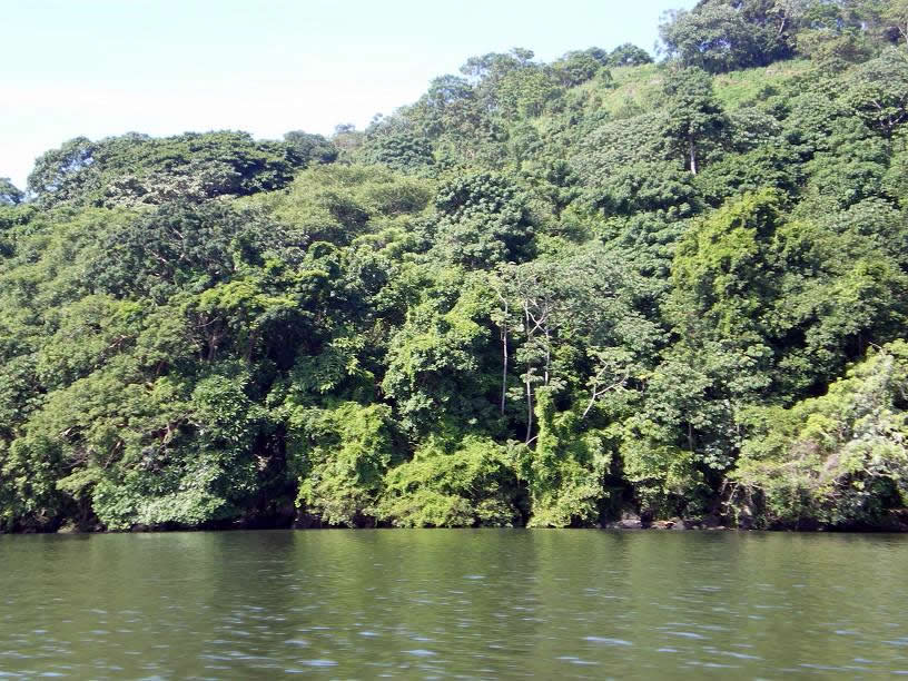 A visão que se deparava aos meus olhos a medida que a lancha se aproximava da Isla Zapatera