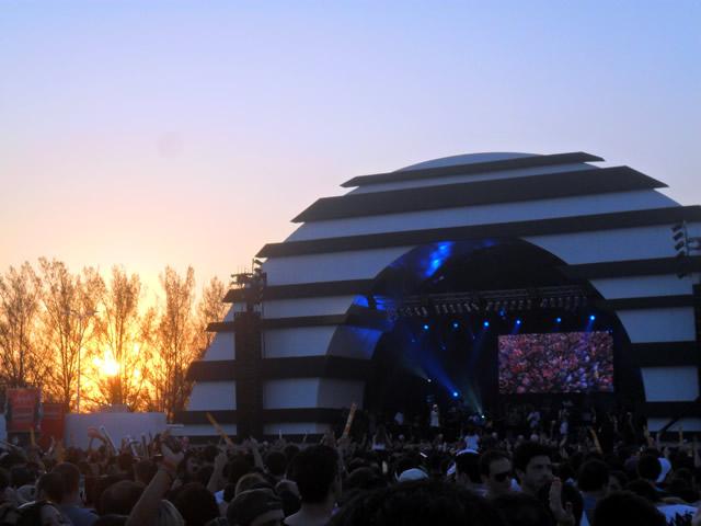 Cidade do Rock, palco Sunset