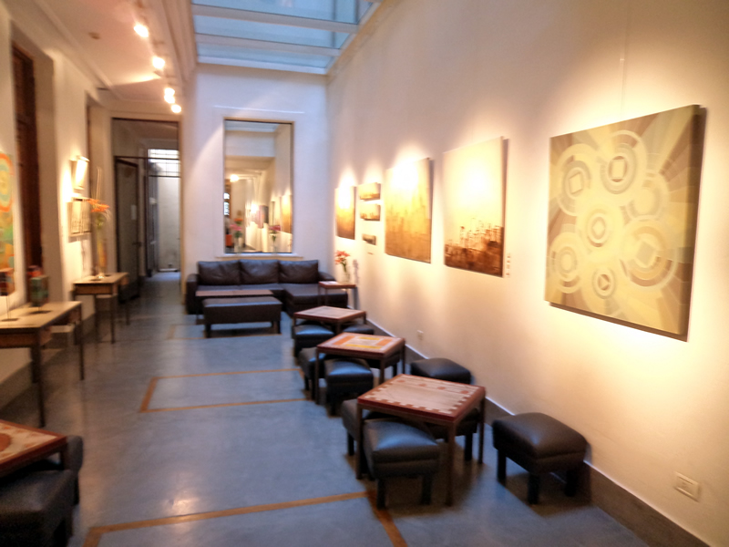 Galeria de arte do hotel