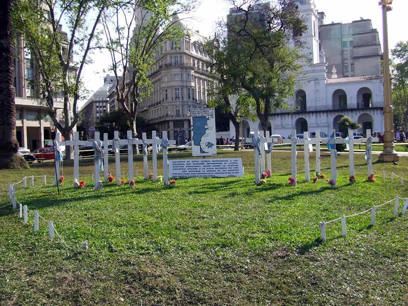 Protesto na Plaza de Mayo