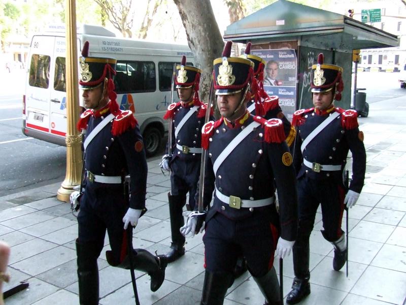 Guardas da Casa Rosada