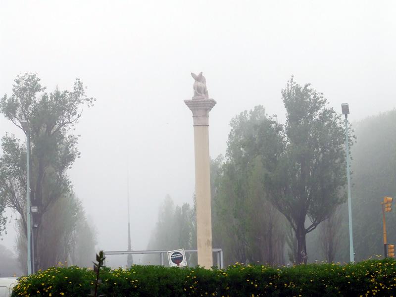Névoa londrina em Buenos Aires