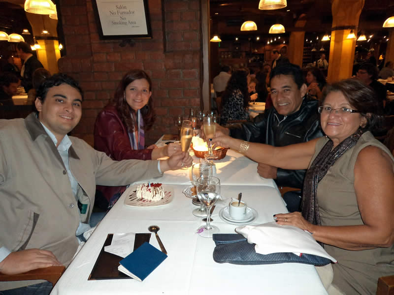 Brinde pelo aniversário de Fred Santos no Estilo Campo