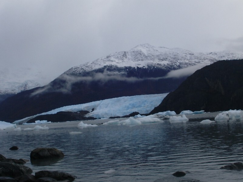 Baía Onelli - Lago Argentino, Braço Norte