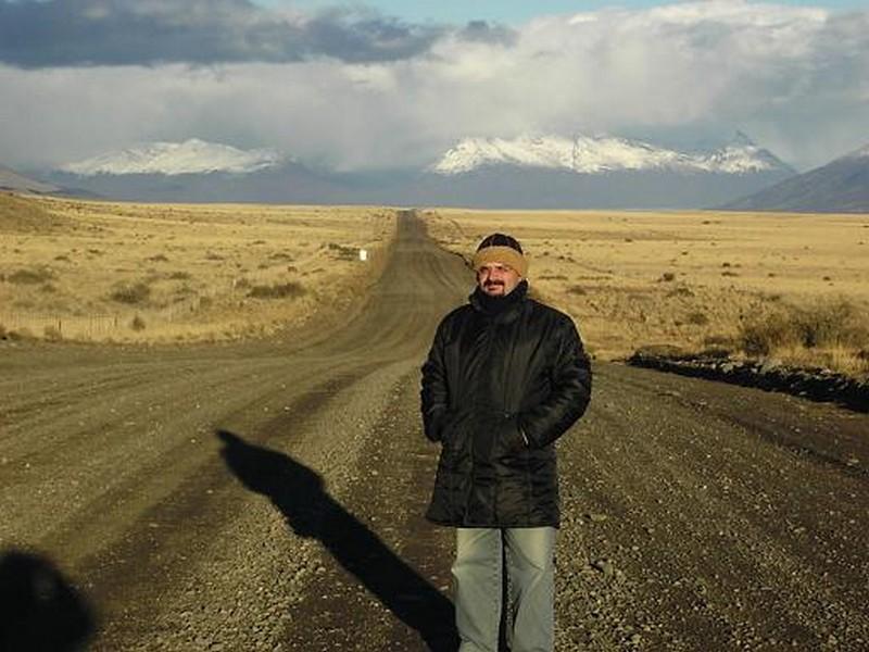 Na Patagônia, rumo ao Glaciar Perito Moreno