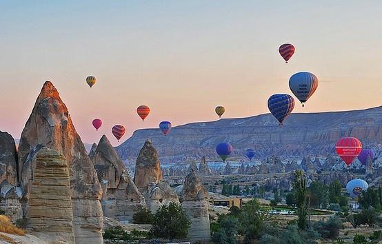 Passeio de balão na Capadócia é um dos meus maiores sonhos