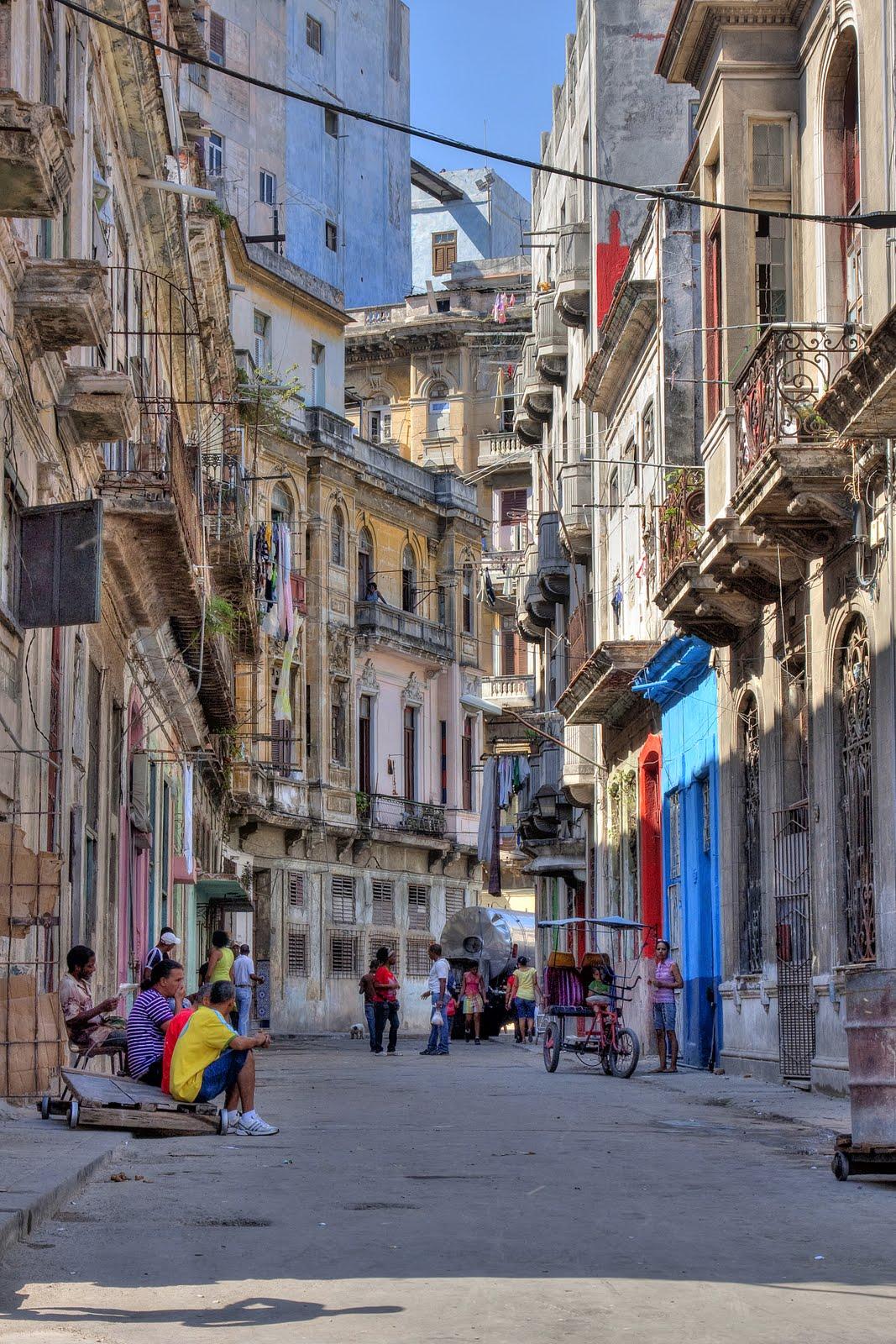 Rua da Havana Velha, o centro histórico da capital cubana