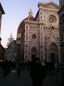Piazza del Duomo, Florença, Final de Dezembro de 2011