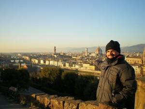 Visual de Florença desde o Piazzale Michelangelo - 31 de dezembro de 2011