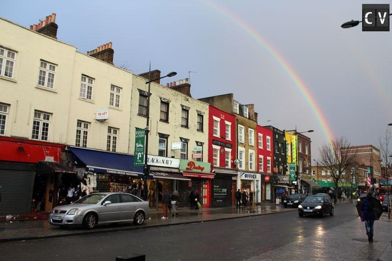 FIm de tarde em Camden Town