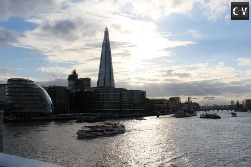 Rio Tâmisa visto da Tower Bridge