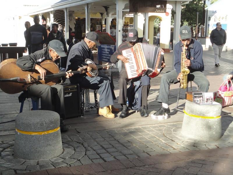 Grupo de jazz no Waterfront