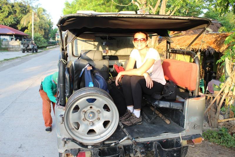 No jeep que nos levou até o início da trilha