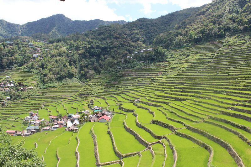 Terraços de arroz de Batad, uma das mais belas paisagens das Filipinas