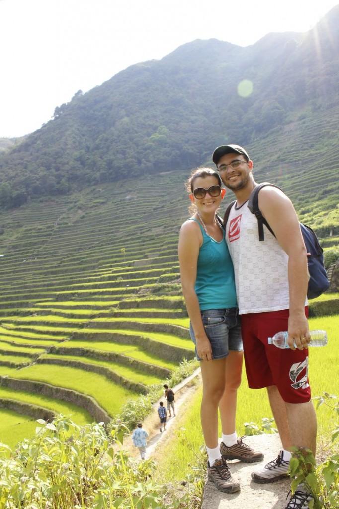 Sobrevivemos aos terraços de arroz de Batad!