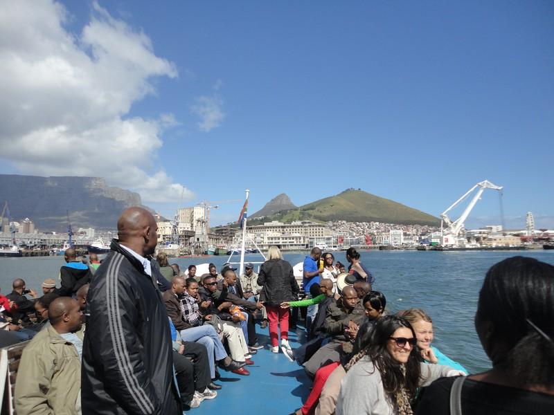Vista para Table Mountain e Lions Head