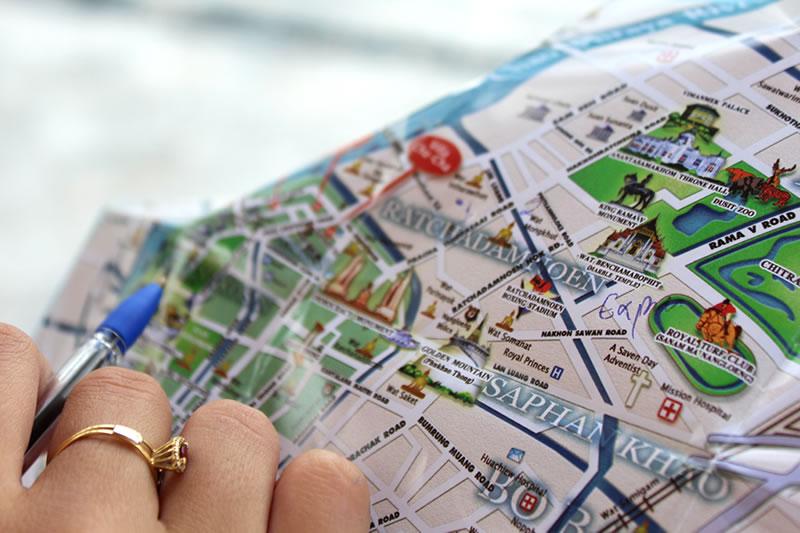 Agora vocês podem nos achar no mapa e continuar acompanhando nossa viagem!