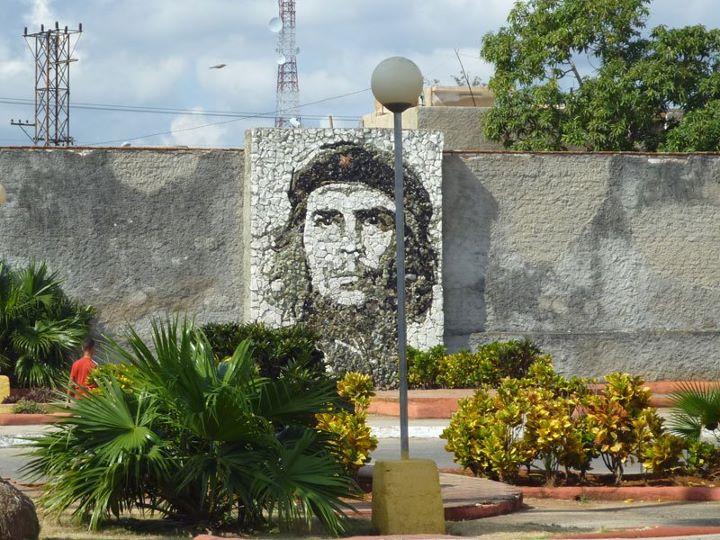 Imagem de Che Guevara nas ruas de Santa Clara