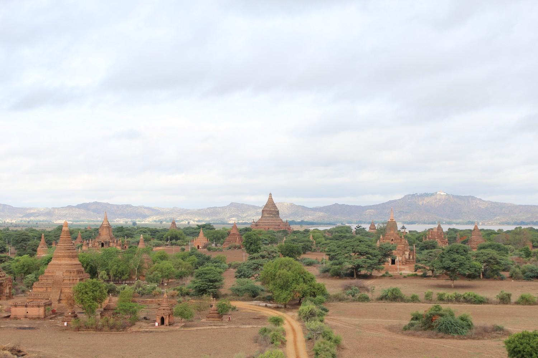 Bagan tem um cenário surreal
