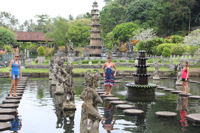 Com Nancy e Fernanda Fagundes em Bali