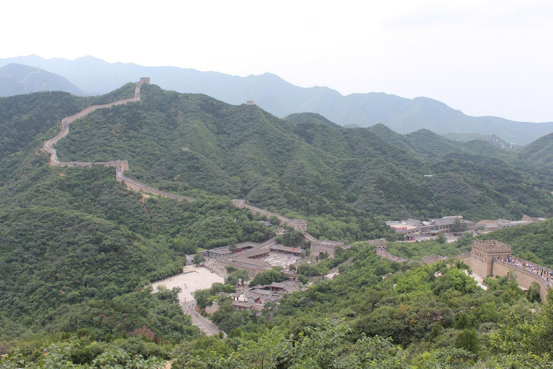 Trecho de Badaling da Muralha da China