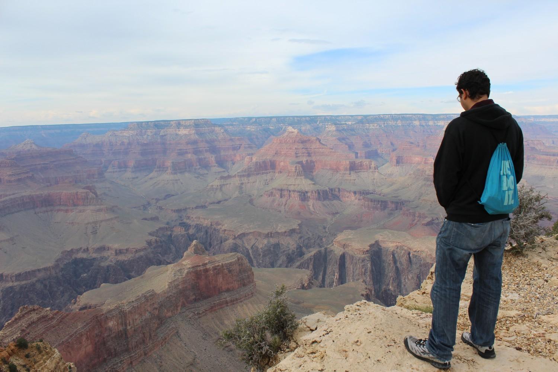 Uma das vistas do Grand Canyon de tirar o fôlego