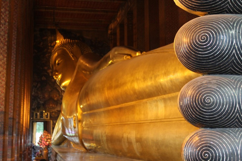 Buda deitado do Wat Pho
