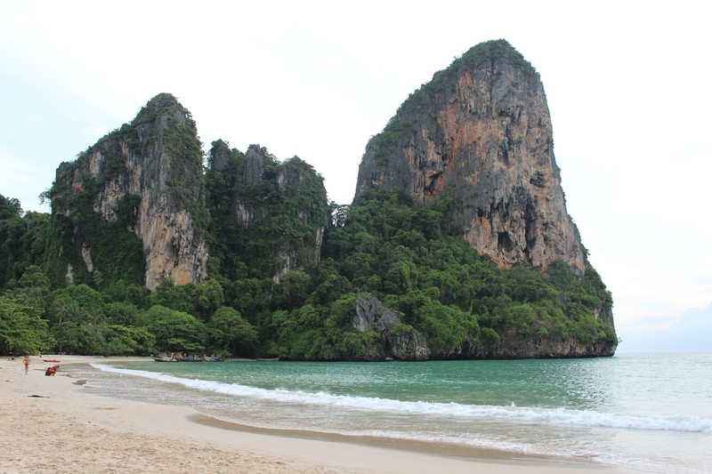Railay West, a praia mais bonita da Tailândia