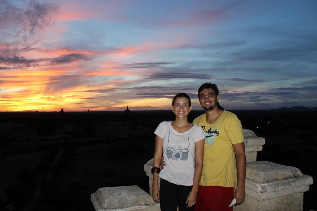 Nascer do sol, Bagan, Myanmar