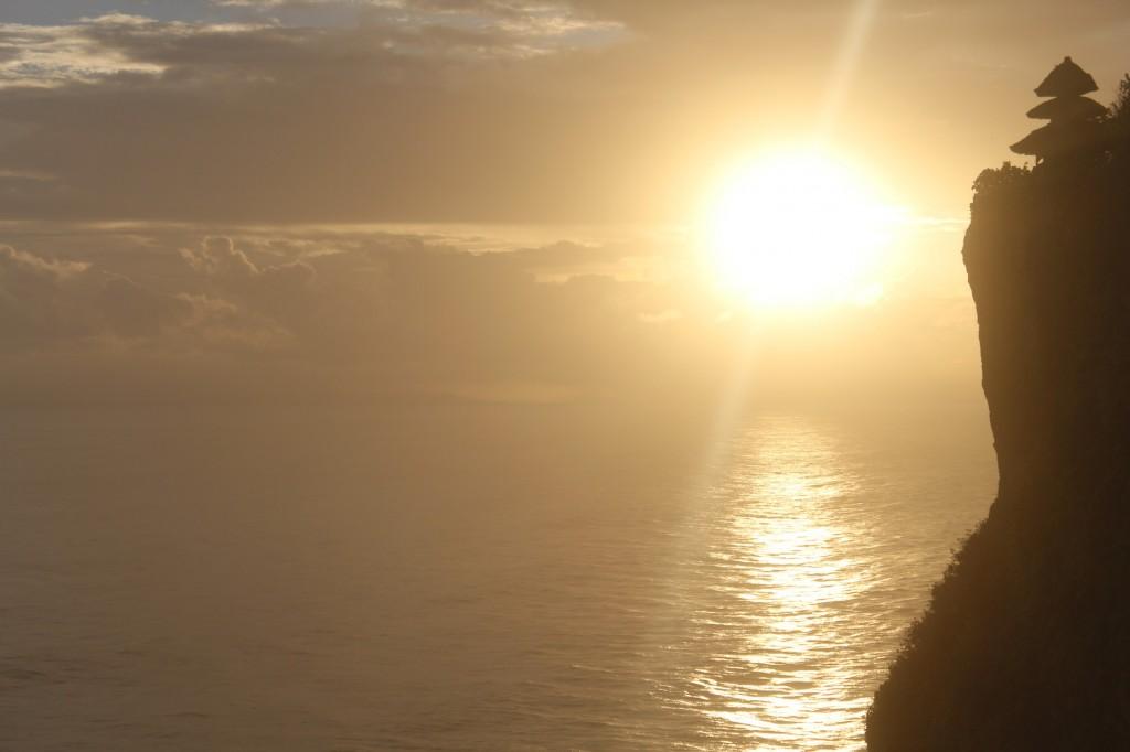 Pôr do Sol no Uluwatu