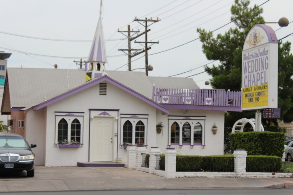 Uma das inúmeras capelas de Vegas