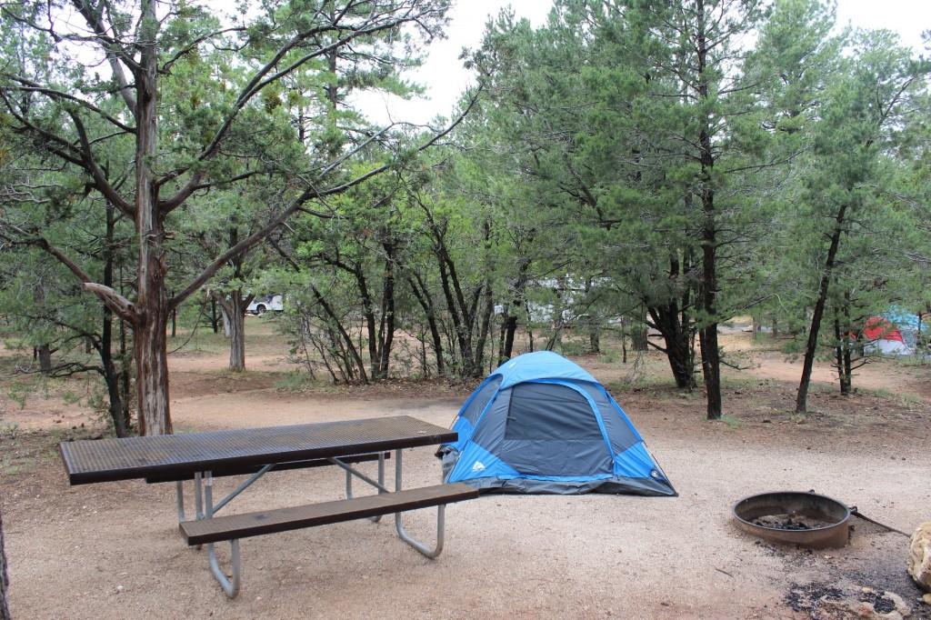 Nosso acampamento no Mather Campground