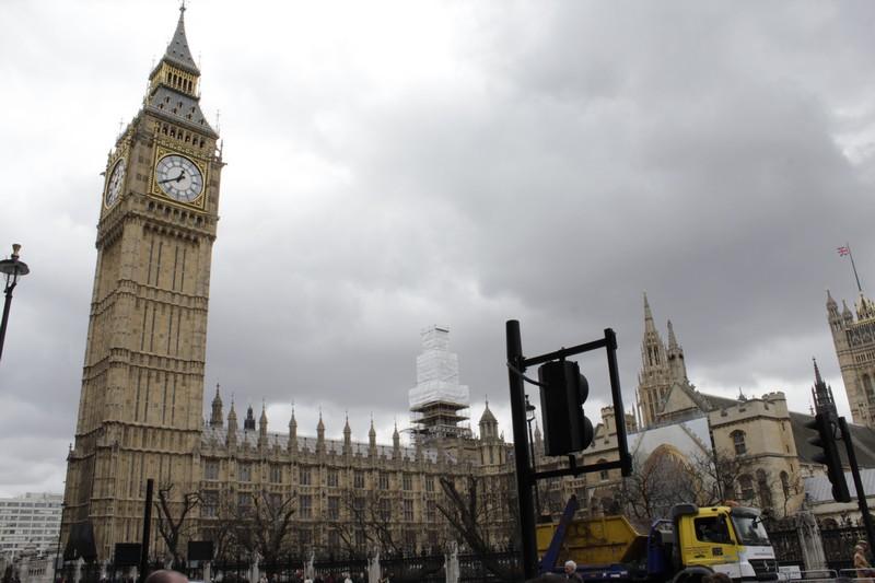 Parlamento inglês e a torre do Big Ben