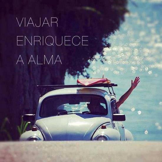 Viajar enriquece a alma. Foto: Pinterest (Privilegi by Lodi)