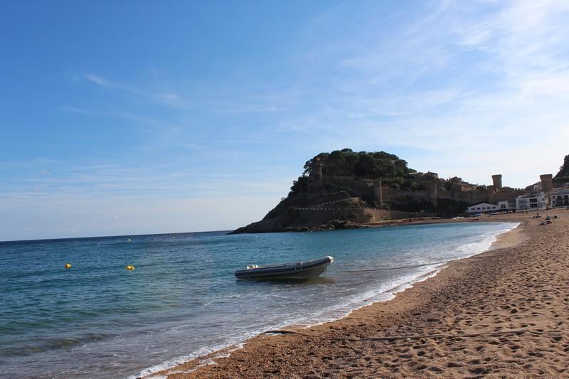 Tossa de Mar é o paraíso azul