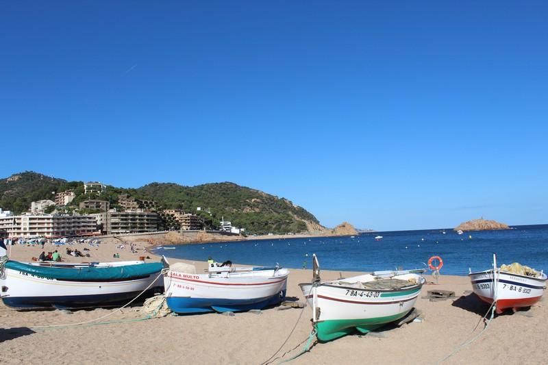 Platja Gran, a praia principal