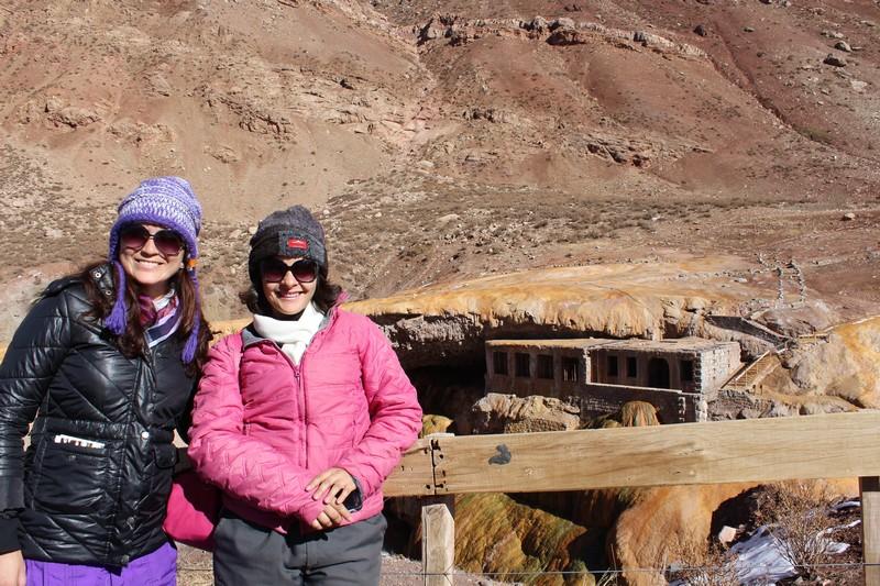 Minha companheira nesta viagem: Fátima Elena
