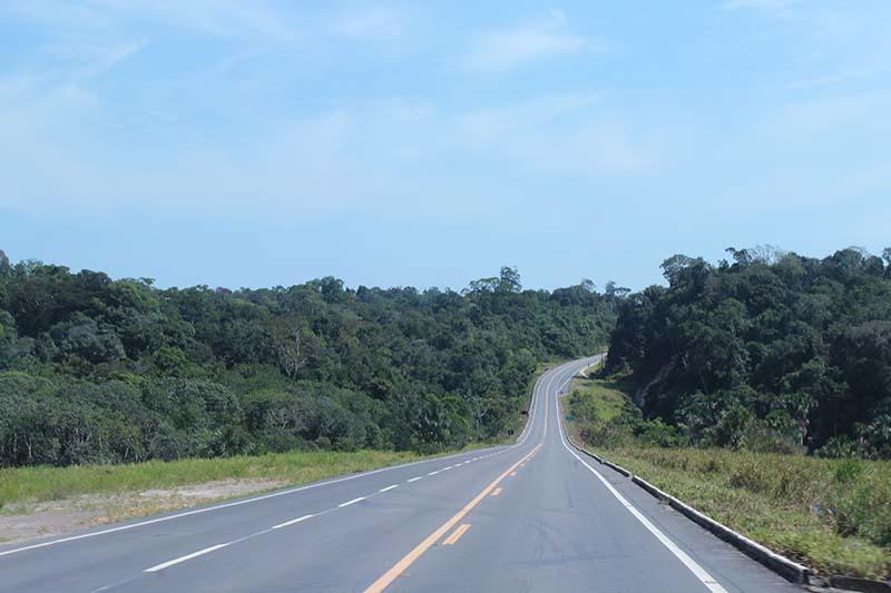 Estrada para Presidente Figueiredo