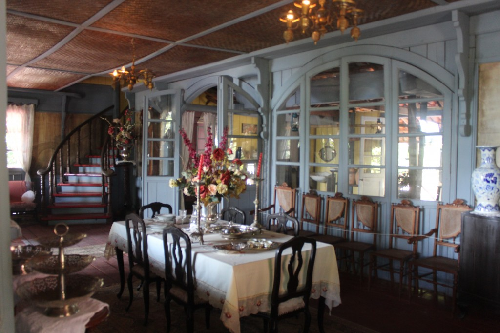 Sala do casarão do seringalista