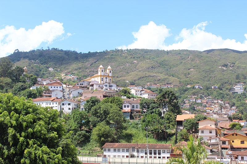 Ouro Preto vista do trem